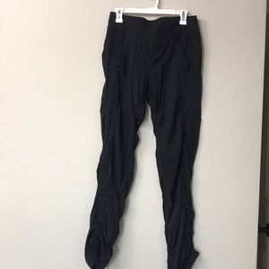 Lululemon black pants size 10.